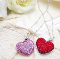 【Valentine collection】Sweet Heart スワロネックレス〔2color〕